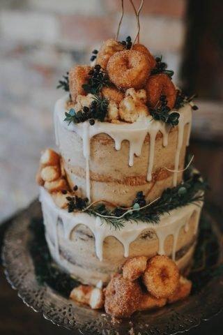 Jesienne dekoracje weselne – menu weselne