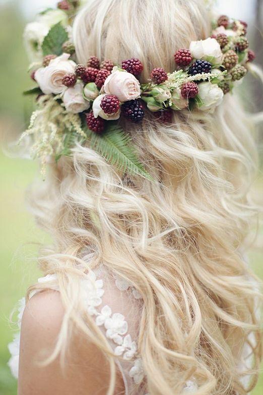 Jesienne dekoracje weselne – wianek