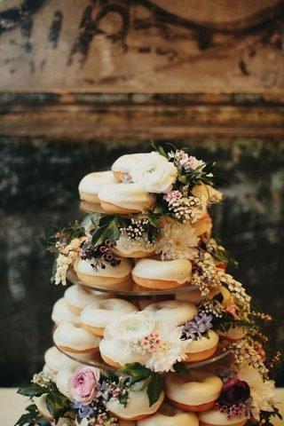 Jesienne dekoracje weselne – candy bar