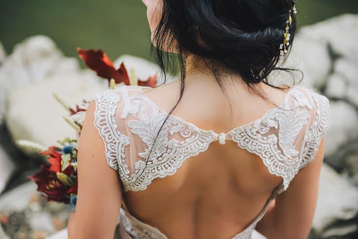 panna młoda suknia ślubna