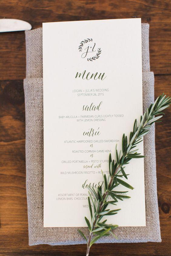 Karty Menu Weselnego Weddingpl Podpowiada I Radzi