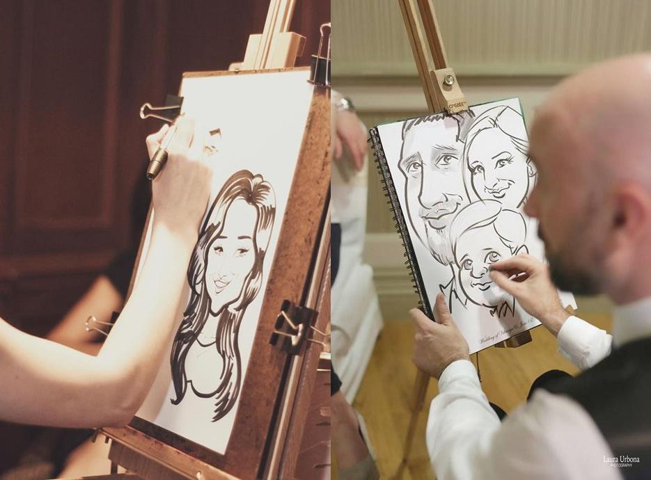 Karykaturzysta na wesele - zdjęcie 3