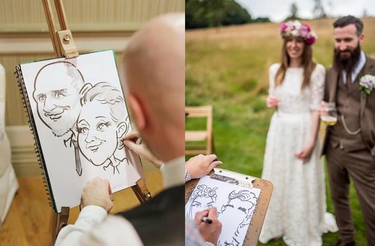 Karykaturzysta na wesele - zdjęcie 5