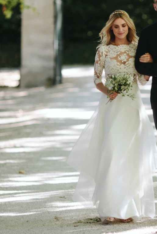 kasia tusk pokazała suknię ślubną - zdjęcie 2
