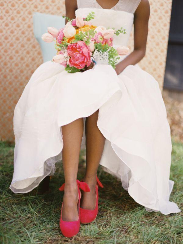 86fa3bf9 Kolorowe buty ślubne - 20 inspiracji - Wedding.pl