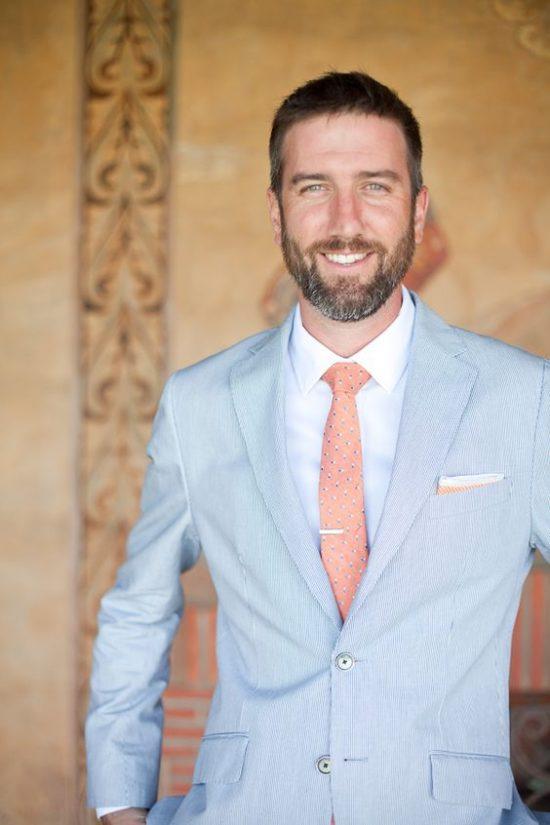 Kolorowe garnitury ślubne - zdjęcie 13