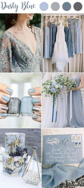 szary kolor przewodni wesela