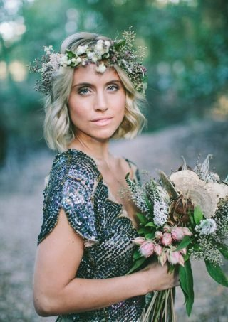 Naturalne fale - fryzury ślubne