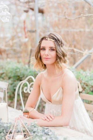 Pofalowane włosy na ślub
