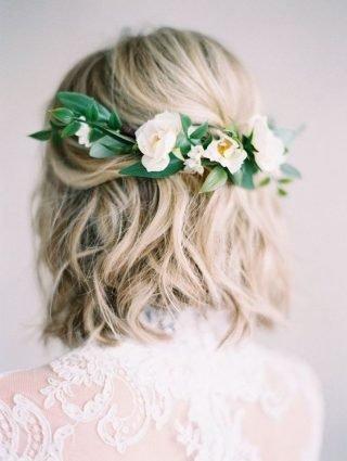Kręcone włosy na ślub