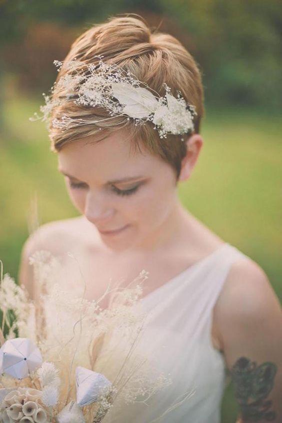 Krótkie Fryzury ślubne Album Inspiracji Dla Panny Młodej