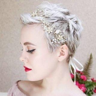 Opaski do fryzur ślubnych