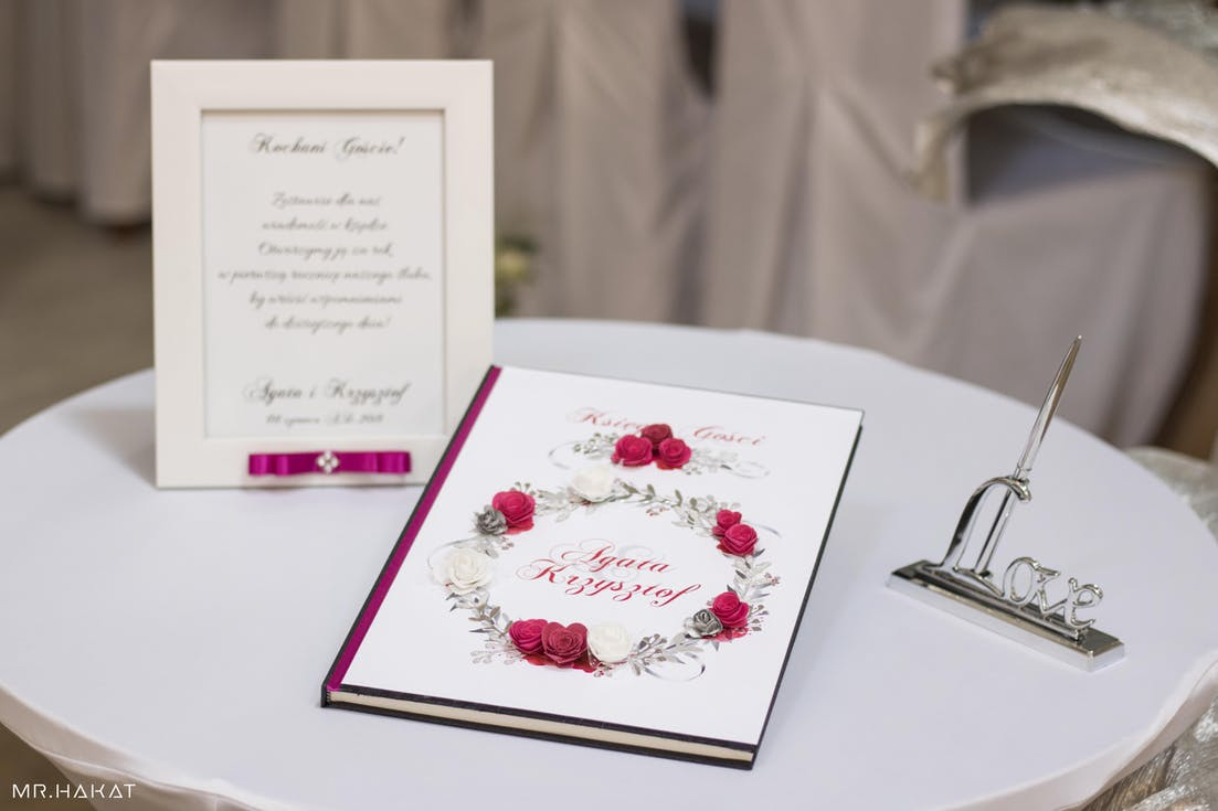 Księga gości na wesele
