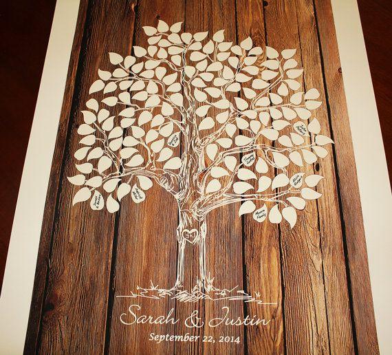 księga gości - drzewo
