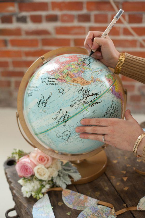 globus jako księga gości