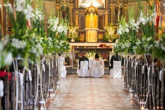 kwiaty na ślub do kościoła Kwiaciarnia Kochłowice Rynek