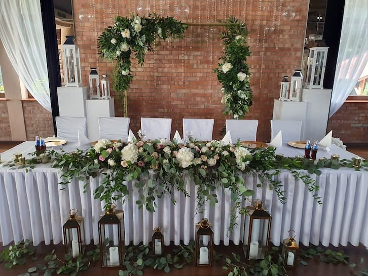 kwiaty na wesele 2020 studio projekt marzeń