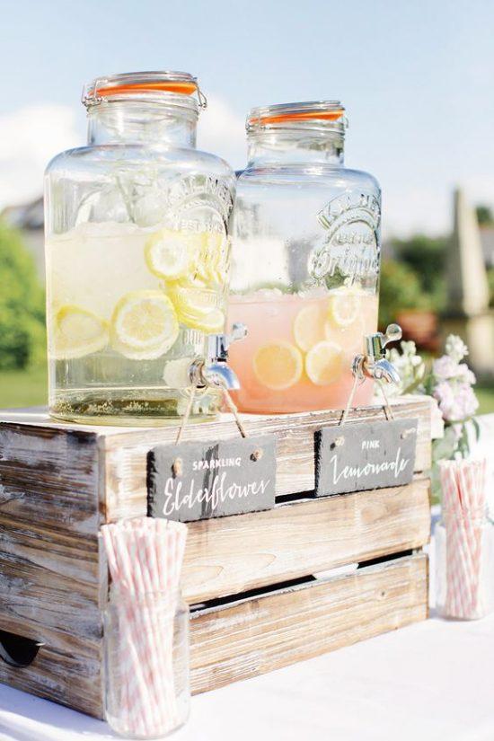 Lemoniada dla gości weselnych