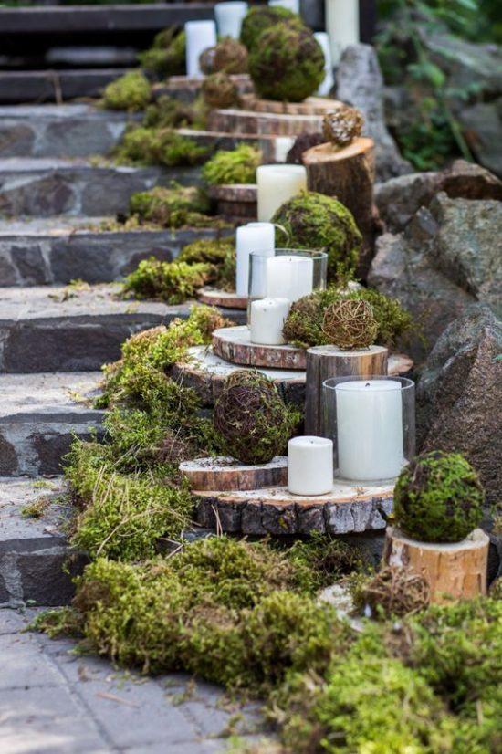 Leśny motyw przewodni na weselu - zdjęcie 10