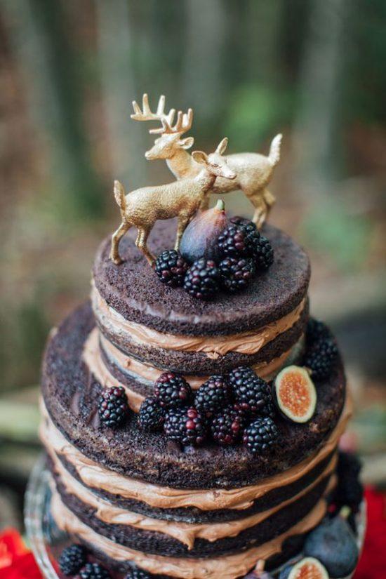 Leśny motyw przewodni na weselu - zdjęcie 14
