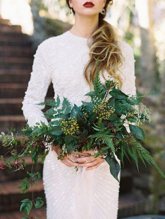 Leśny motyw przewodni na weselu - zdjęcie 5