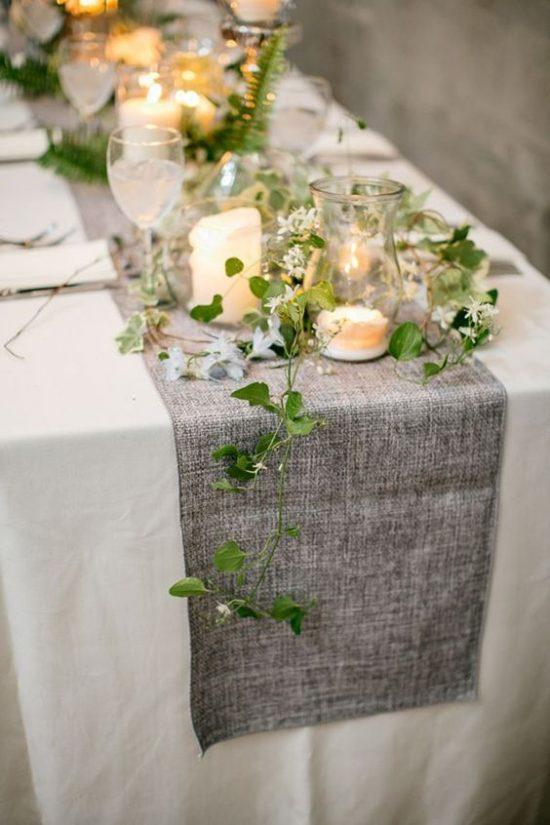 Leśny motyw przewodni na weselu - zdjęcie 13