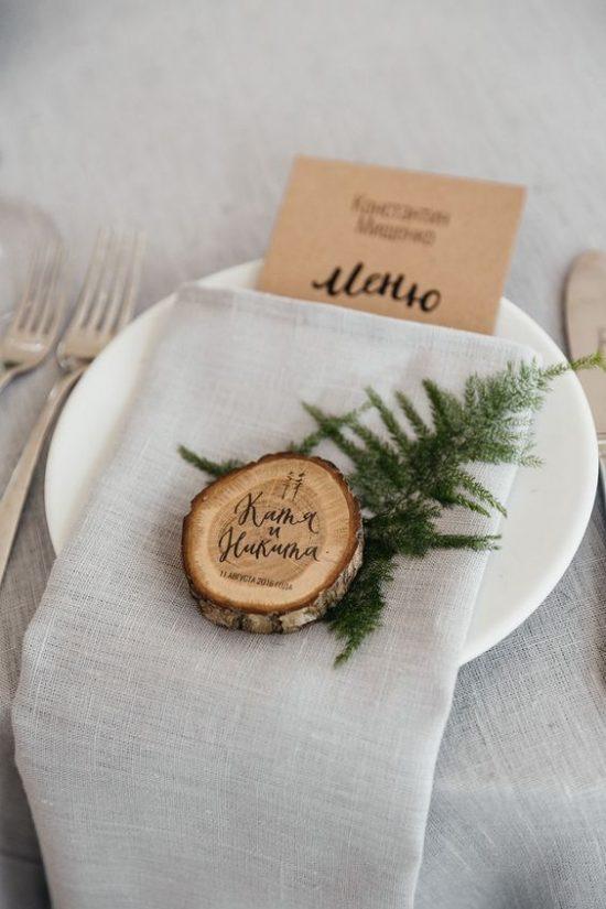 Leśny motyw przewodni na weselu - zdjęcie 1