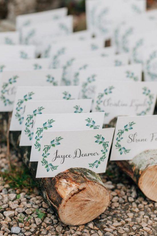 Leśny motyw przewodni na weselu - zdjęcie 2
