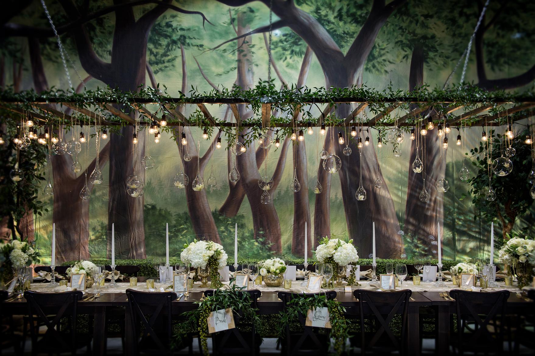 Leśny motyw przewodni na weselu - zdjęcie 17