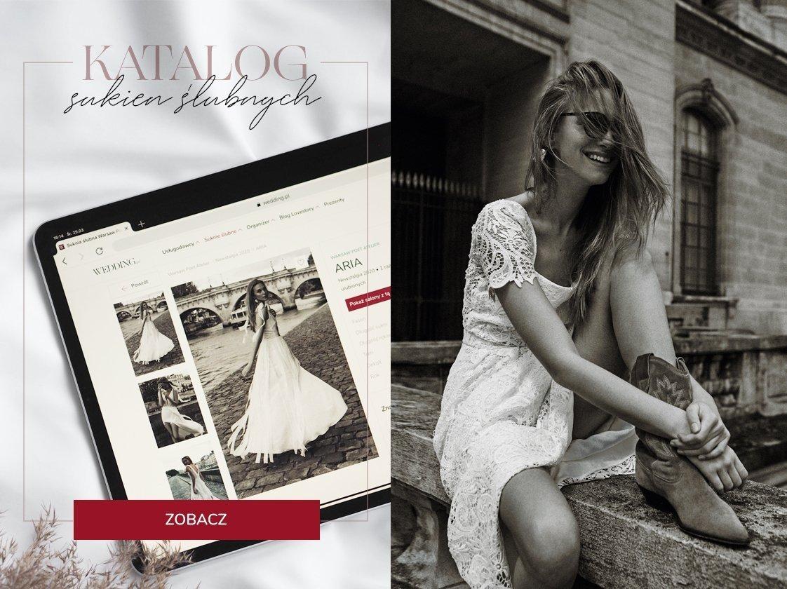 Katalog sukni ślubnych Wedding.pl