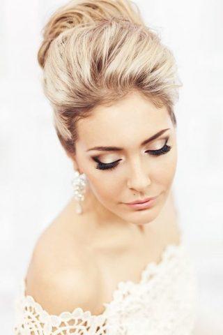 Makijaż ślubny oka