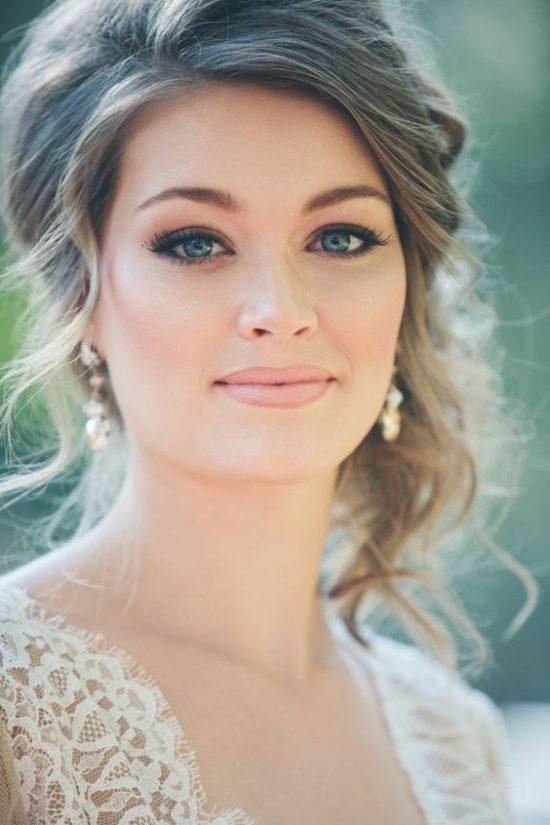 Makijaż ślubny 2020 - naturalne usta