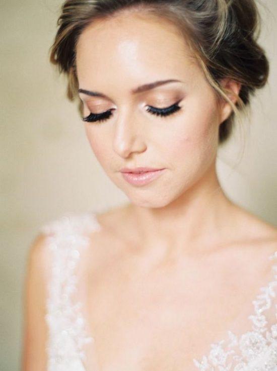 Makijaż ślubny 2020 - beż
