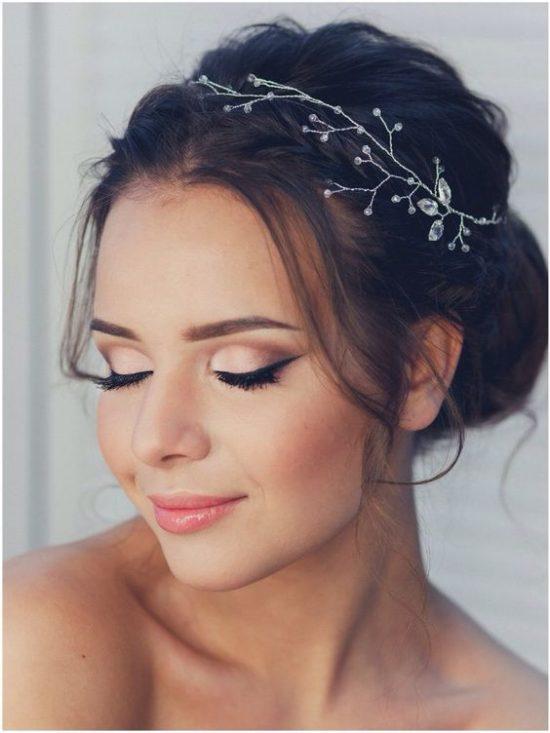 Makijaż ślubny w beżach