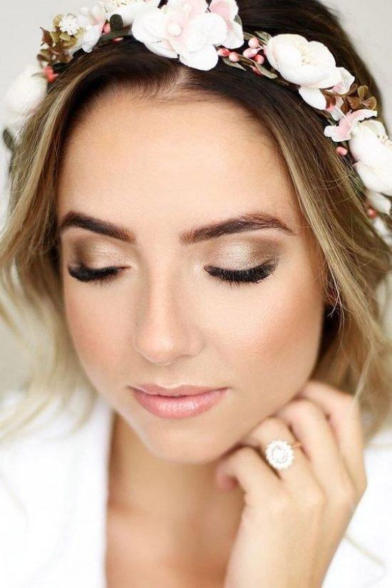 Makijaż ślubny 2020 - brwi