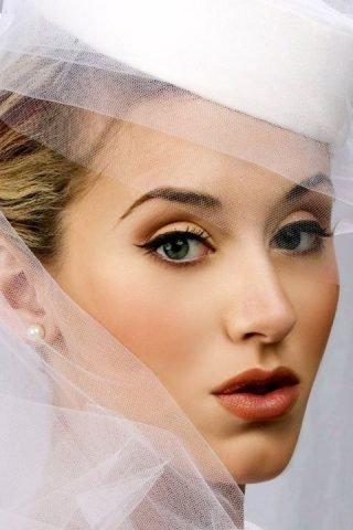 Makijaż ślubny z kreskami 2020