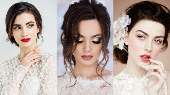 Modne makijaże ślubne 2020