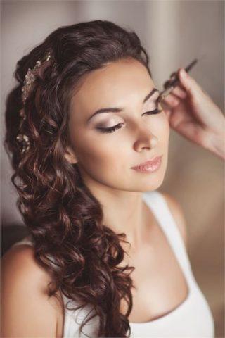 Makijaż ślubny do sesji zdjęciowej - zdjęcie 2