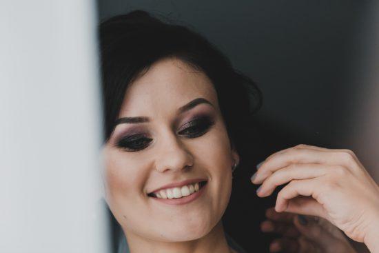 Makijaż ślubny - smoky eyes - zdjęcie 7