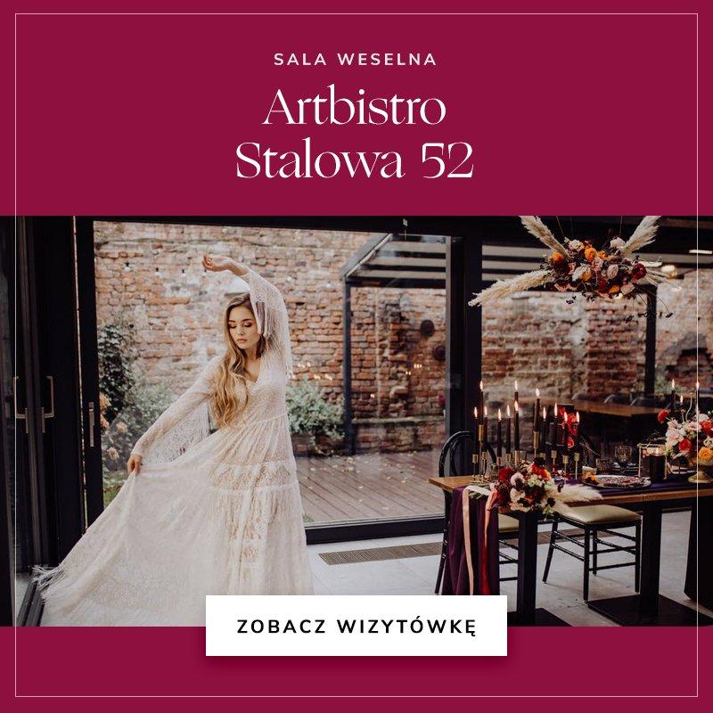 małe sale weselne - Artbistro Stalowa 52