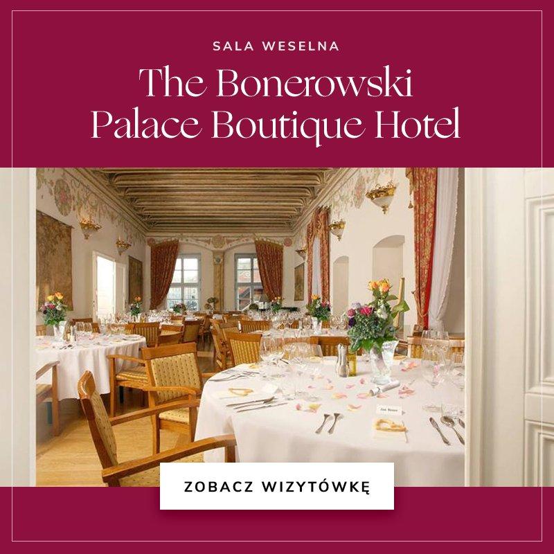 małe sale weselne - The Bonerowski Palace Boutique Hotel
