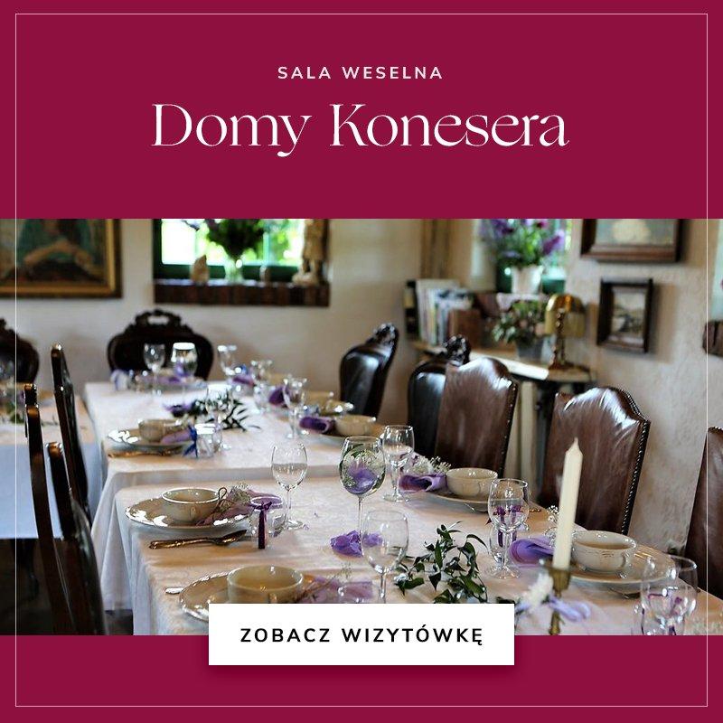 małe sale weselne - Domy Konesera