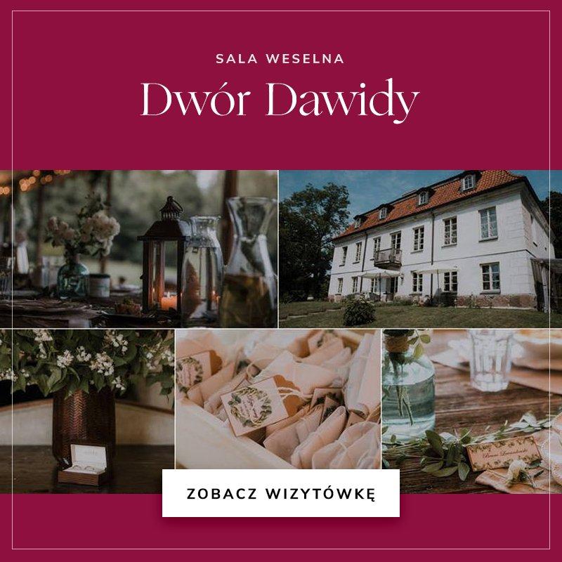 małe sale weselne - Dwór Dawidy
