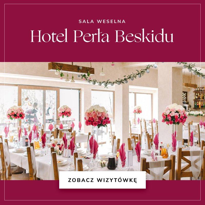 małe sale weselne - Perła Beskidu
