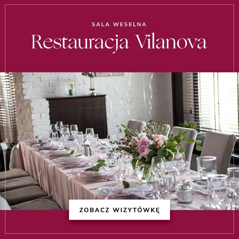 małe sale weselne - Restauracja Vilanova