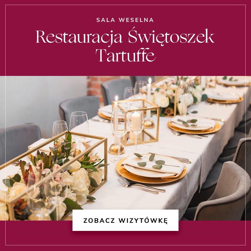 małe sale weselne - Restauracja Świętoszek Tartuffe