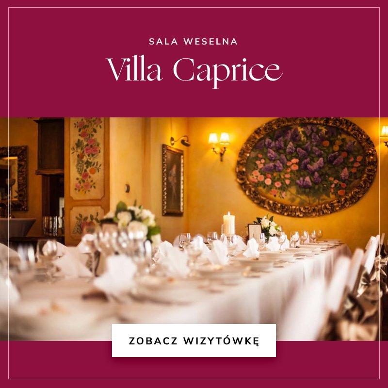małe sale weselne - Villa Caprice