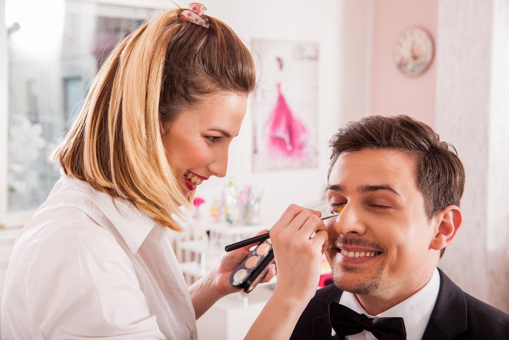 Męski makijaż ślubny