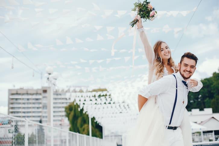 przyjęcie weselne styl marynistyczny