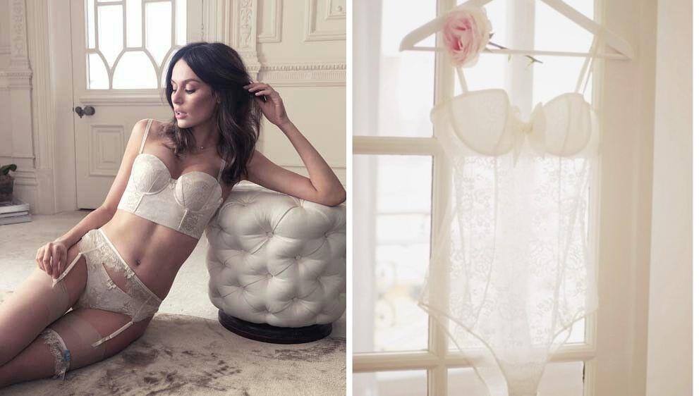Modelująca bielizna ślubna